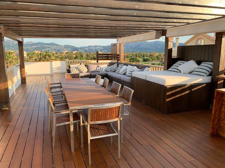 Apartamento ático en  Oliva nova golf super vistas