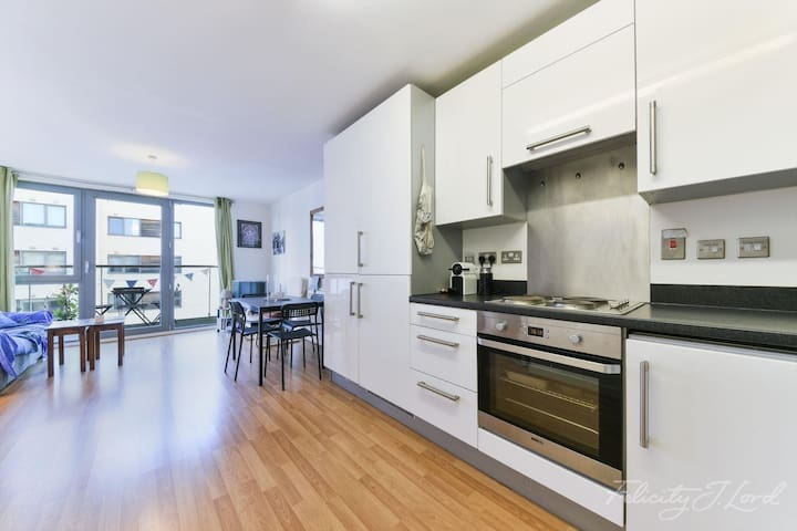 Bright/spacious 1 bed flat - close to central Lond