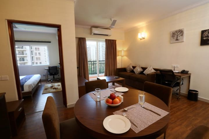 Whitefield 1 Bedroom Serviced Apartments - Bengaluru - Flat
