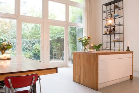 Unique LOFT with GARDEN in popular EAST - Amsterdam
