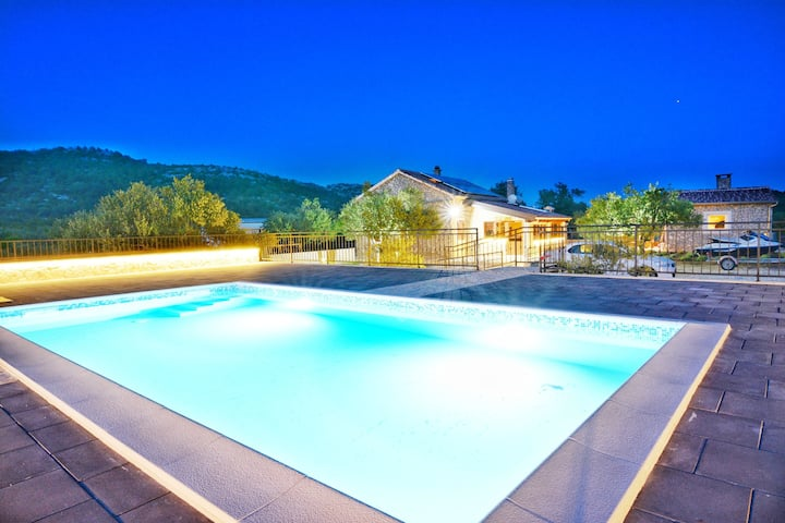 New Stone House Vodice with pool