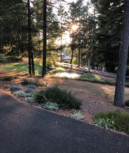 RV Parking in Serene Setting with Hook-ups