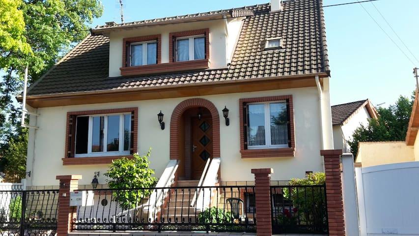 Chambre privée calme proche Orly, Paris - Villemoisson-sur-Orge - Casa