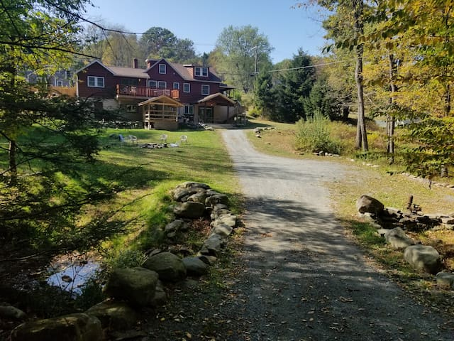Mid Century Rustic Modern on 31 Acres Private Lake