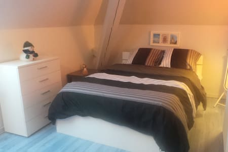 Chambre bleue 1 ou 2 personnes - Bed & Breakfast
