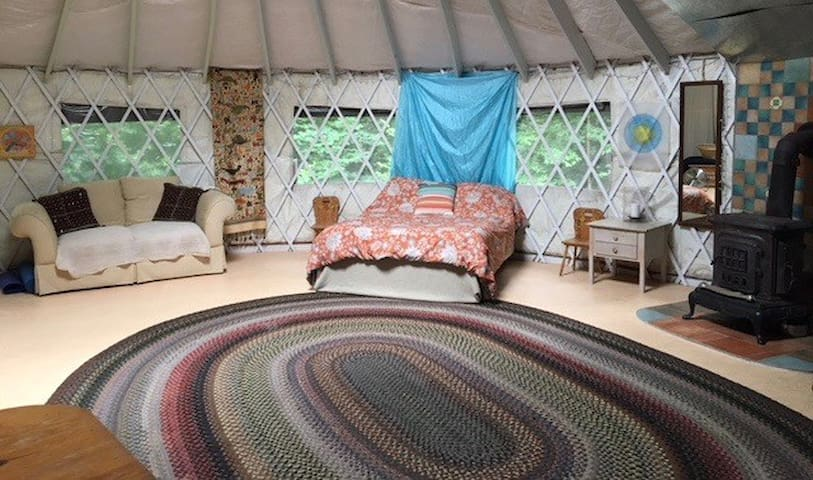 Yurt in the Woods Retreat