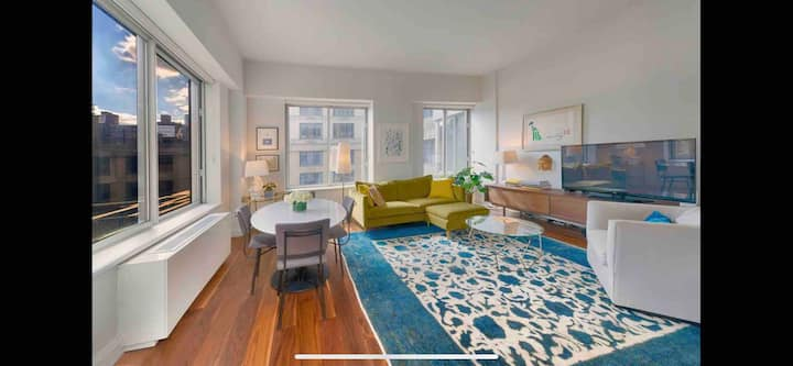 Beautifully furnished UWS 1-br near Riverside Park