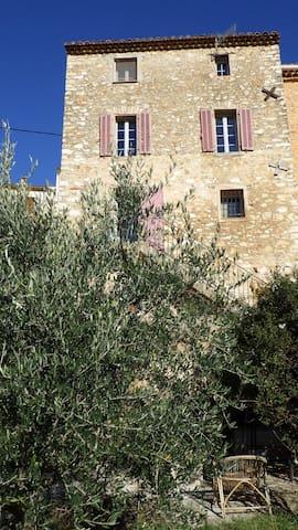 Chambre de charme au coeur de la Provence - Seillons-Source-d'Argens - Hus