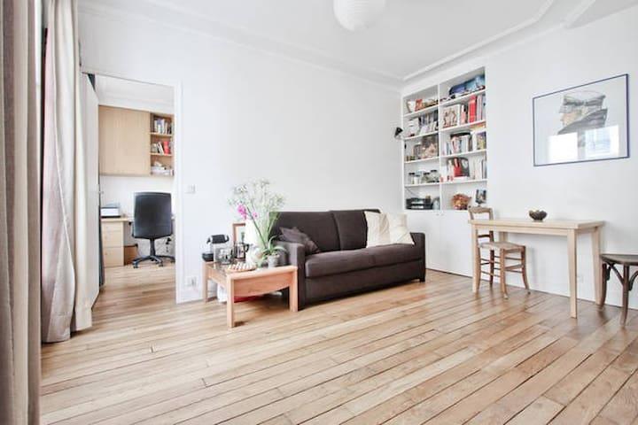 Quiet apartment in a trendy area