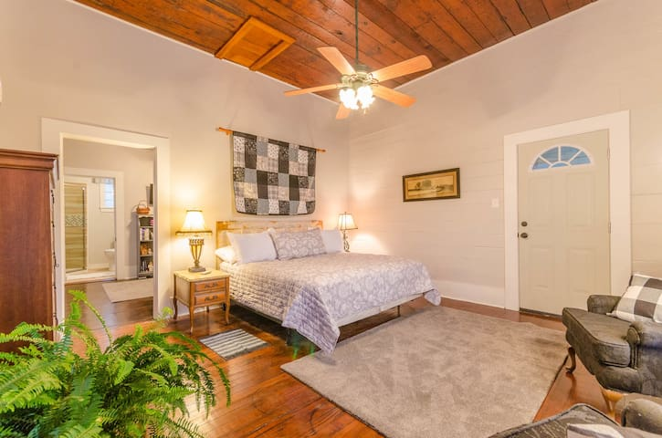 Charming suite in historic downtown neighborhood