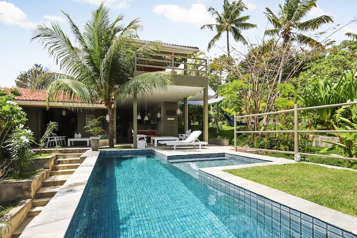 Villa Pipamar, Pipa Centre with AC & Private Pool