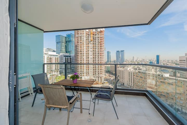✦SUPERIOR & SPACIOUS. 14th Floor+Parking✦TLV Mall