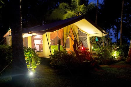 West Bali Luxury Beachfront Glamping Tent