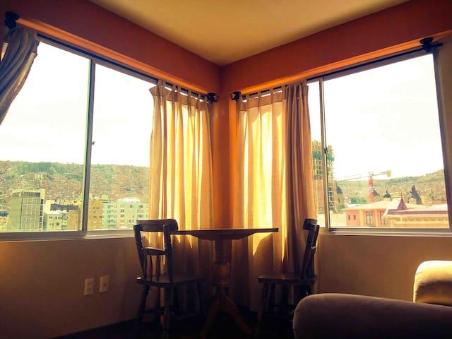 :: 303 :: Corner Apt. Heart of  DownTown - La Paz - Apartment