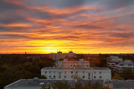 romantic sunsets,lightflooded,central,subway 80m - Munich - Apartment