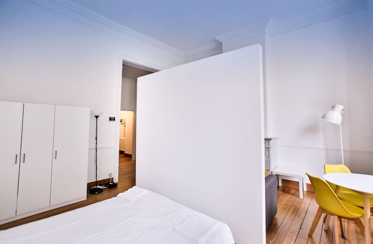 City center studio in the heart of brussels