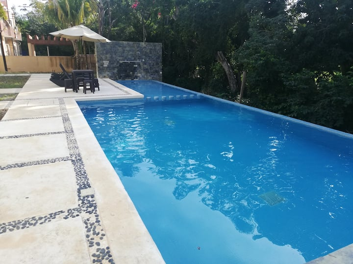 Studio in Baru, Puerto Aventuras, with pool