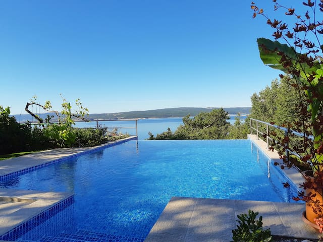 Two Bedroom Apartment, in Dramalj (Crikvenica), Outdoor pool, Terrace