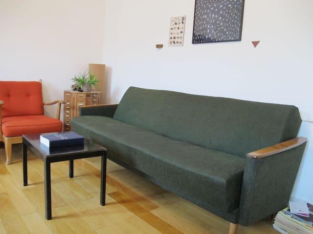 Nice flat next to exhibition centre - Basileia - Apartamento