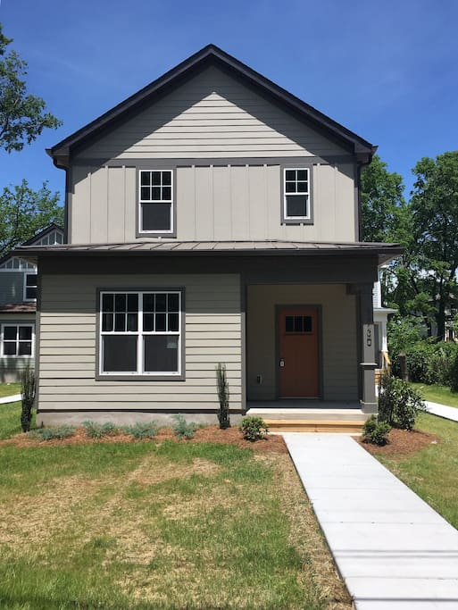 Brand new home very close to downtown nashville houses for New modern homes nashville tn