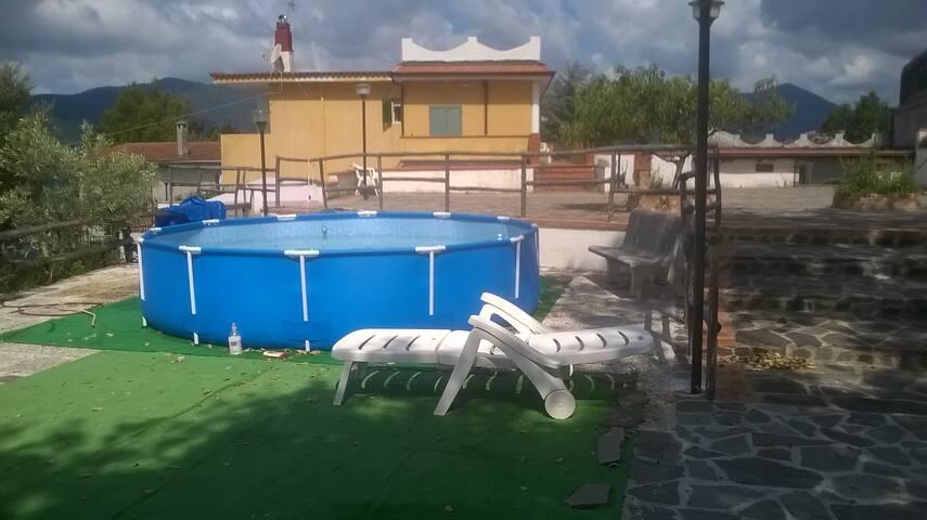 villa con uliveto - Centola - Villa
