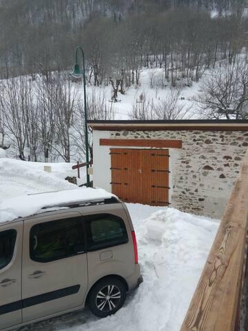 Joli studio dans hameau de montagne