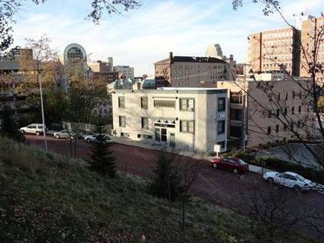 Medical Mile Apartment in Unique Downtown Setting!