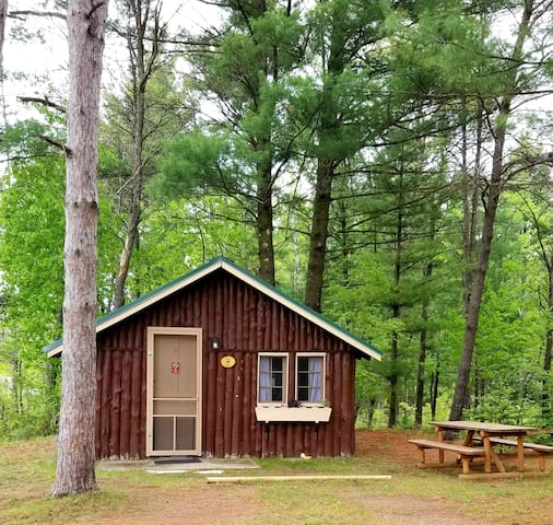 Clean & Private DOG FRIENDLY CABIN Sleeps 4