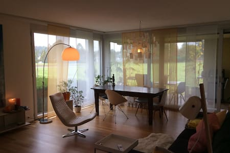 Good energy, stylish apartment, working desk, park - Muri bei Bern - Apartment