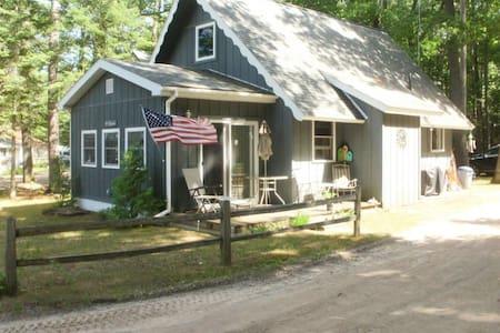 Cozy Chalet Cottage on Mullett Lake