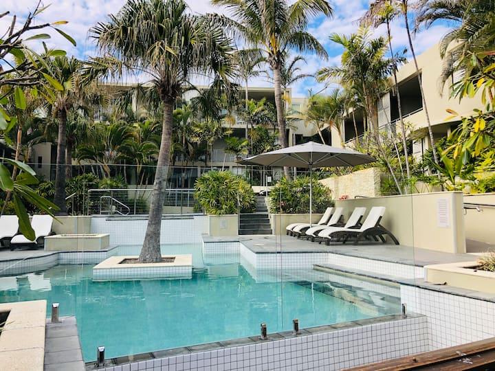 Absolute Beachfront Cabarita - 2 Bed Apart-3 Pools