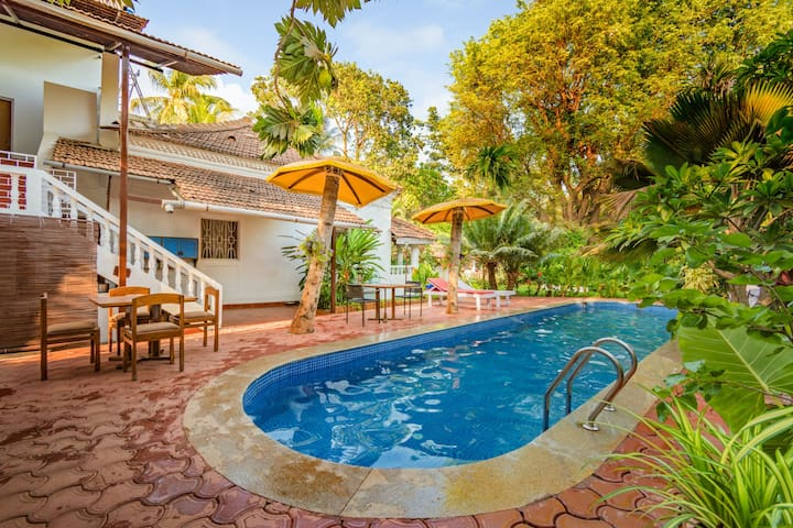 Snazzy suite for 3, near Candolim Beach/73831