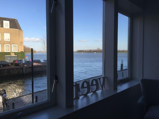 Gloednieuw en schitterend uitzicht! - Dordrecht - House