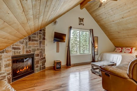 ELKPINE Suite at Eagle Point *RUSTIC, COZY, QUIET*