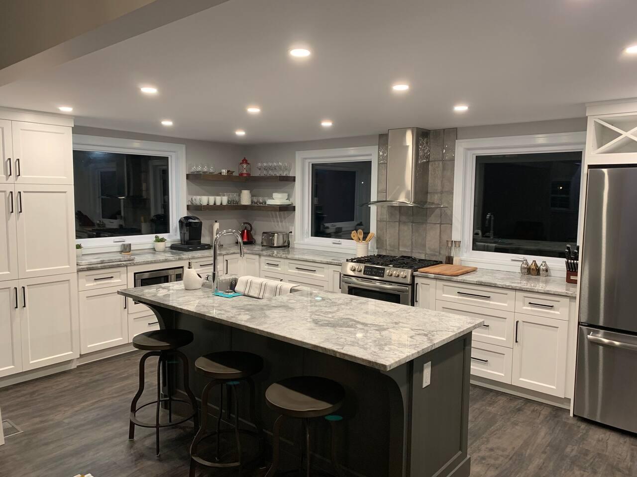 A light, bright kitchen