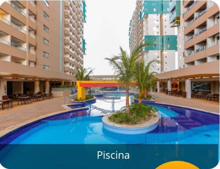 Olimpia Park Resort (apartamento com 2 quartos)