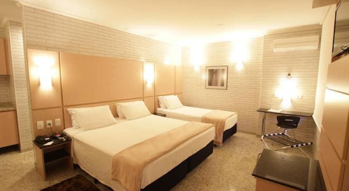Hotel Confiance Centro Cívico - STANDARD TRIPLO CASAL