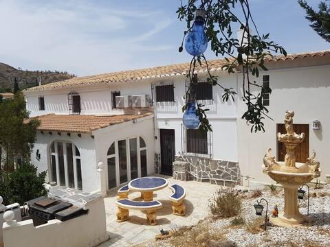 Converted Spanish farmhouse in peaceful location.