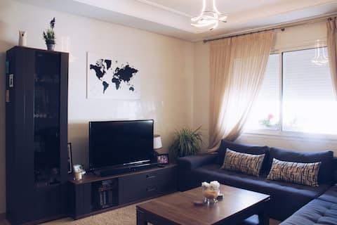 Big, confortable room in Casablanca city center