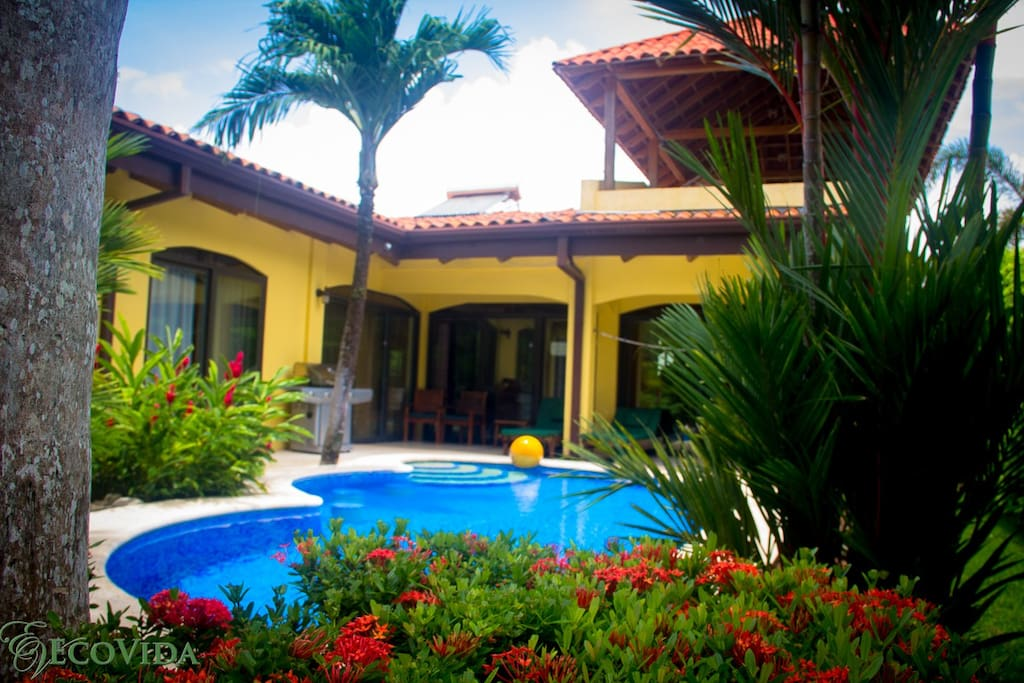 Secluded private pool area, maintained 6 days a week by our staff