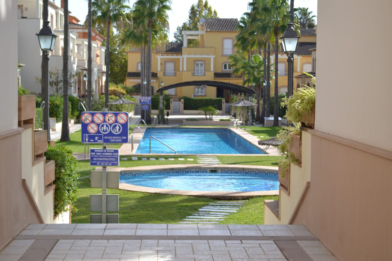 view of both communal pools