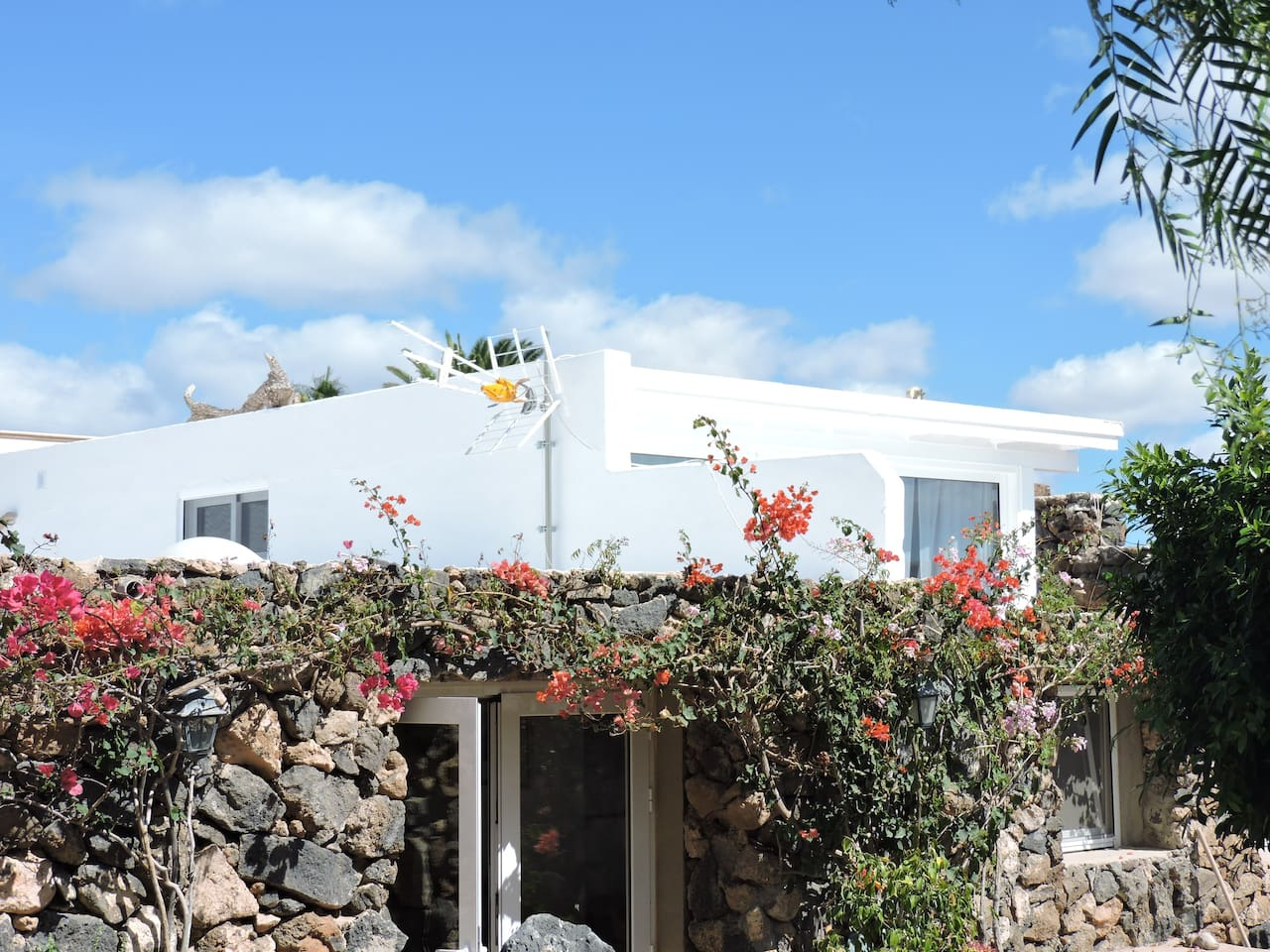 The new modern apartment situated in an elevated position in the grounds of my villa with wonderful views