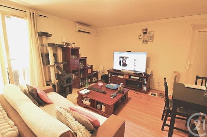Appartement 3p en Rez-de-jardin