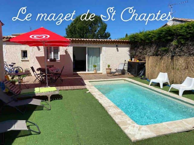 MAZET Provençal 4 personnes piscine et SPA