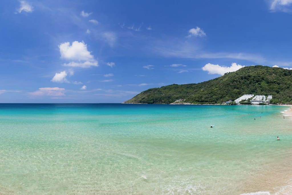 World Class Nai Harn Beach on our doorstep, voted one of south east Asia's best.