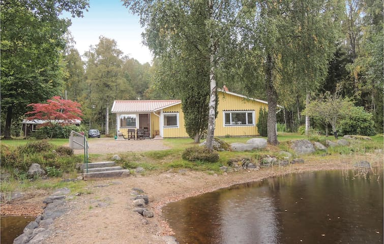 Holiday cottage with 2 bedrooms on 90m² in Hallaryd