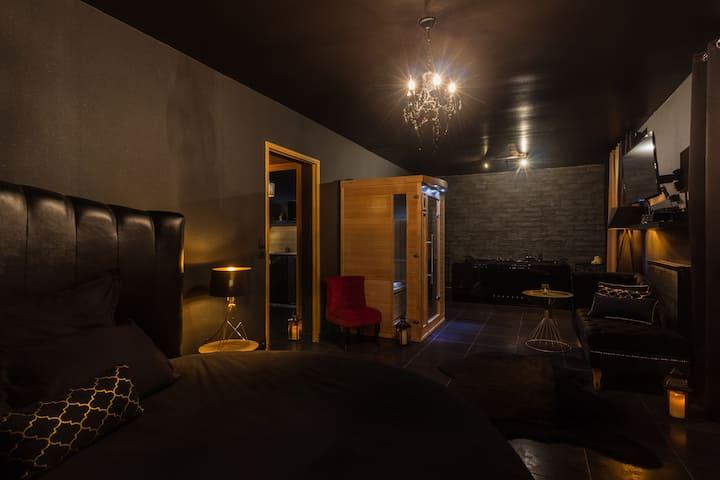 Bayt Spa, Appartement jacuzzi et sauna privatifs
