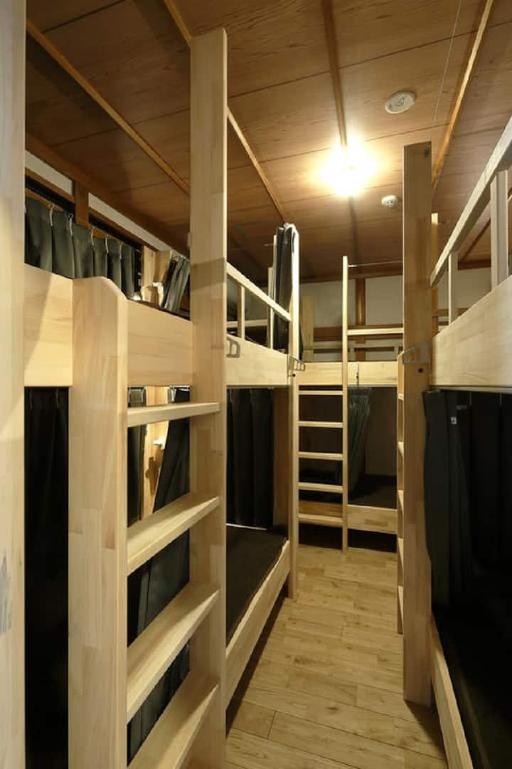 Bunk Bed in 6-Bed Male Dormitory Room