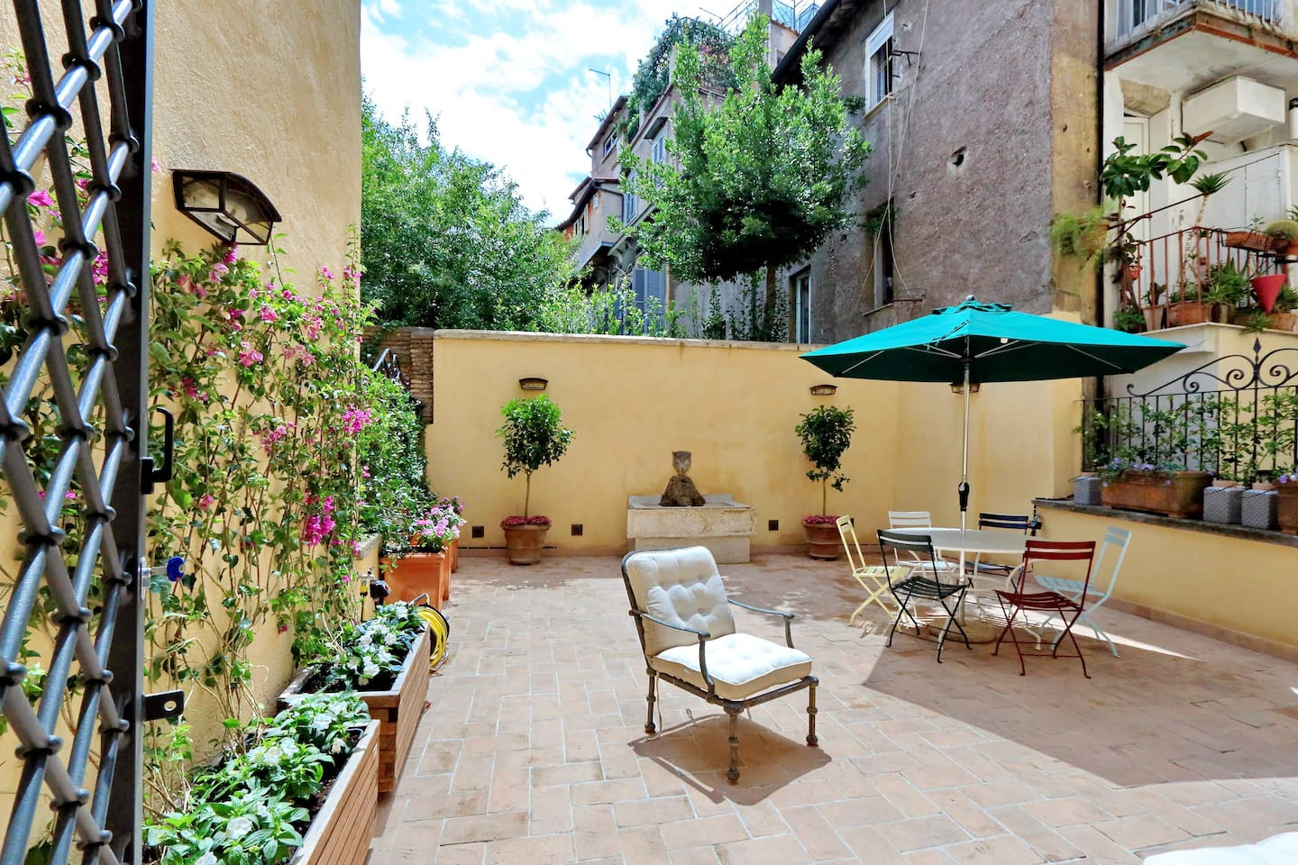 Five bedrooms holiday apartment near Piazza Venezia and Campo de Fiori - Terrace