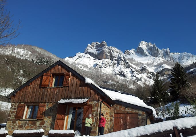 Comfortable chalet in central Pyrenees - Bezins-Garraux